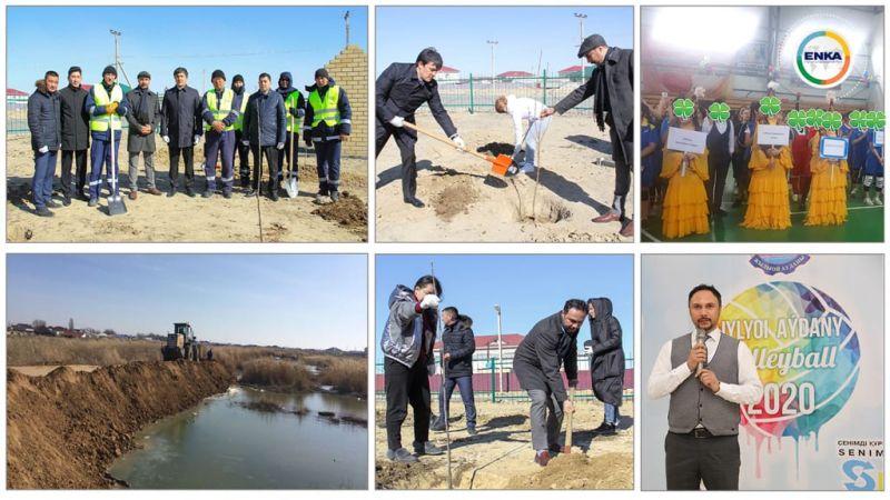 ENKA'nın Kazakistan'da yürüttüğü sosyal faaliyetler