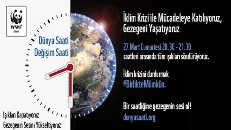 27 Mart Cumartesi Dünya Saati Etkinliği