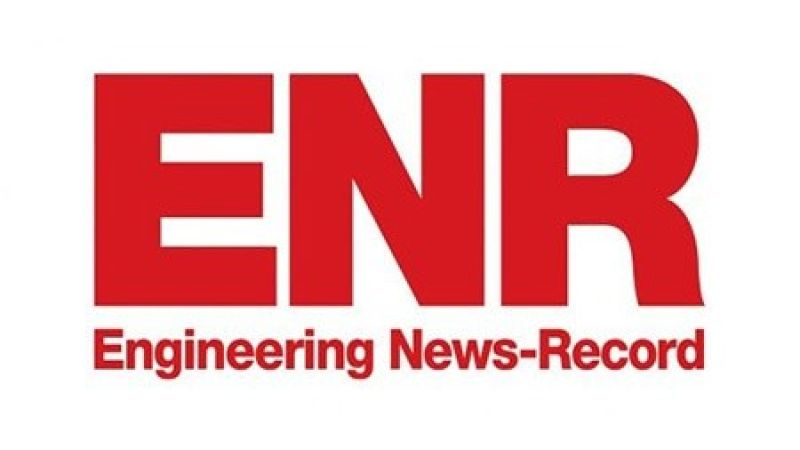 ENKA was ranked among the top 50 international contractors by ENR