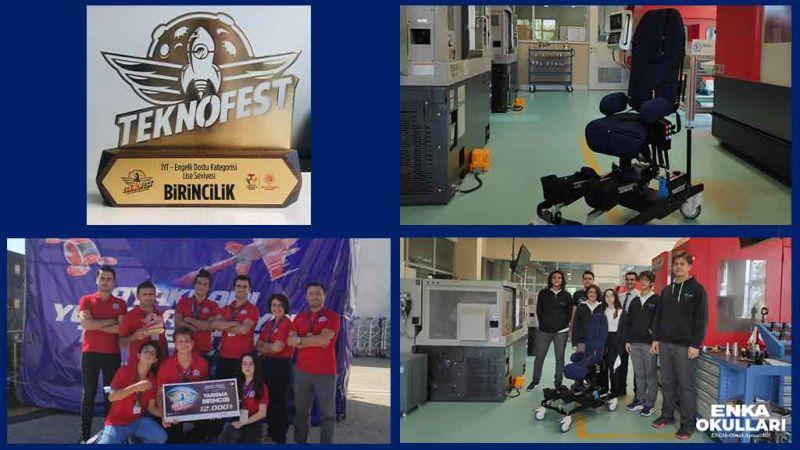ENKA Schools Kocaeli students won first place prize from Teknofest