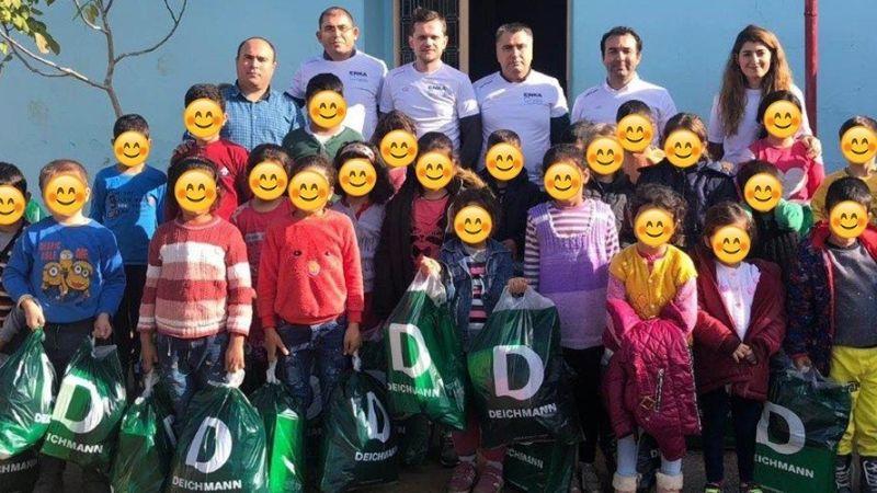 Волонтеры ЭНКА в Измире!