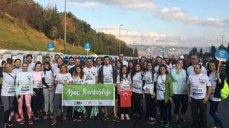 ENKA Corporate Runners at the 40th Istanbul Marathon