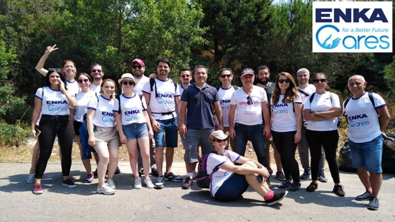 Environmental Cleaning Project of ENKA Volunteers in Kınalıada
