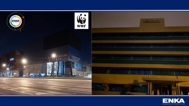 """ENKA supported the """"Earth Hour"""" event"""