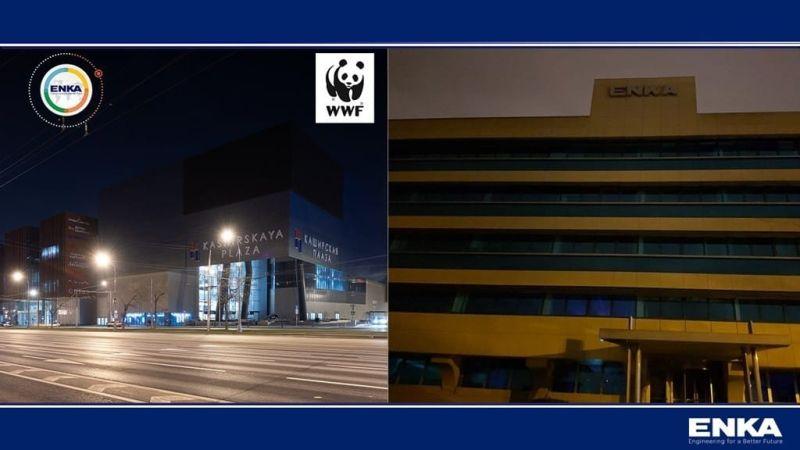 Компания «ЭНКА» поддержала мероприятие «Час Земли»