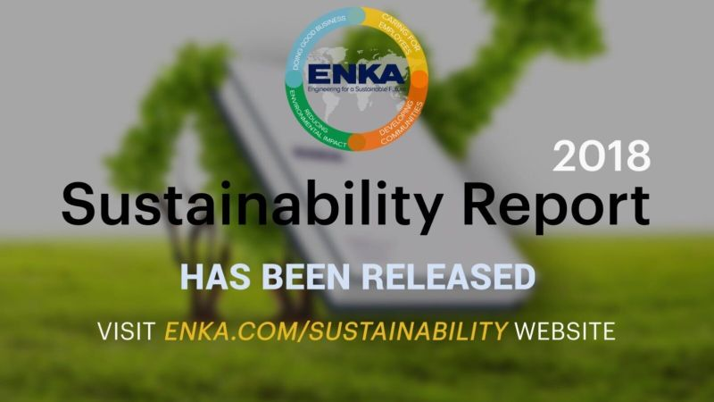 ENKA Sustainability Report 2018 has been published!