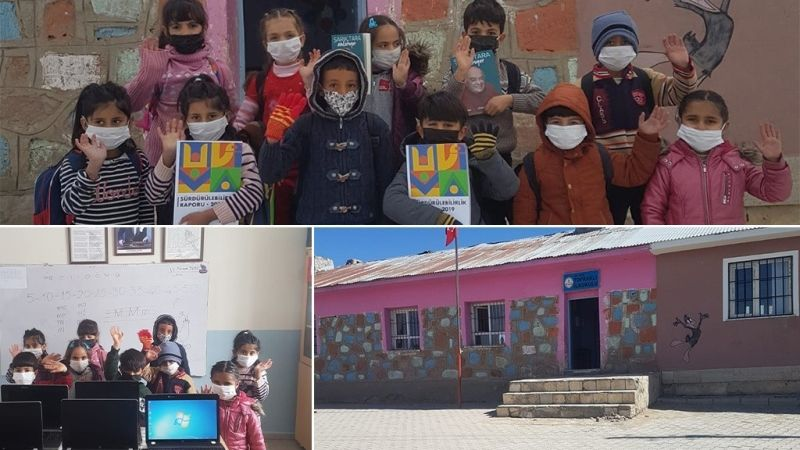 ENKA Sosyal Sorumluluk Projesi – Van Erciş Topraklı İlkokulu Bilgisayar Sınıfı