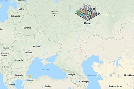 Kazan 250 MW Combined Cycle Power Plant