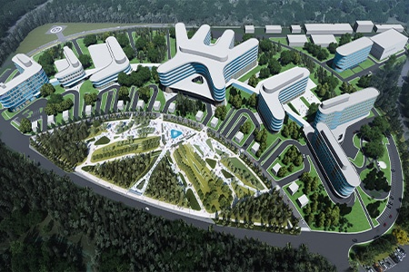 High-Technological Multifunctional Medical Complex