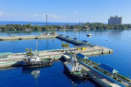 The Nassau Cruise Port at Prince George Wharf, Marine Works