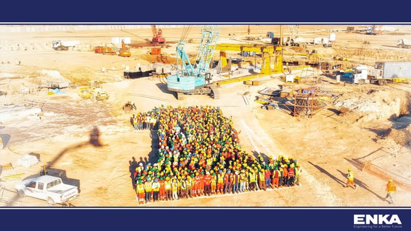 Samawa Combined Cycle Power Plant Project reached 1,000,000 Man-Hours without LTI