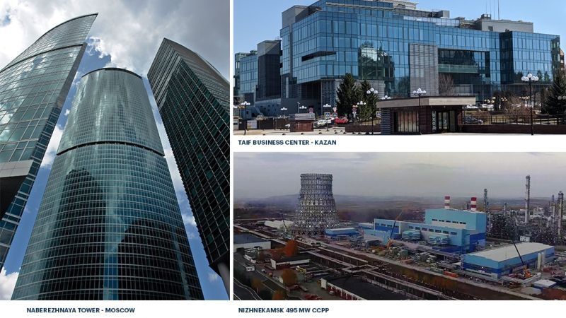 ENKA projects in the Russian Federation