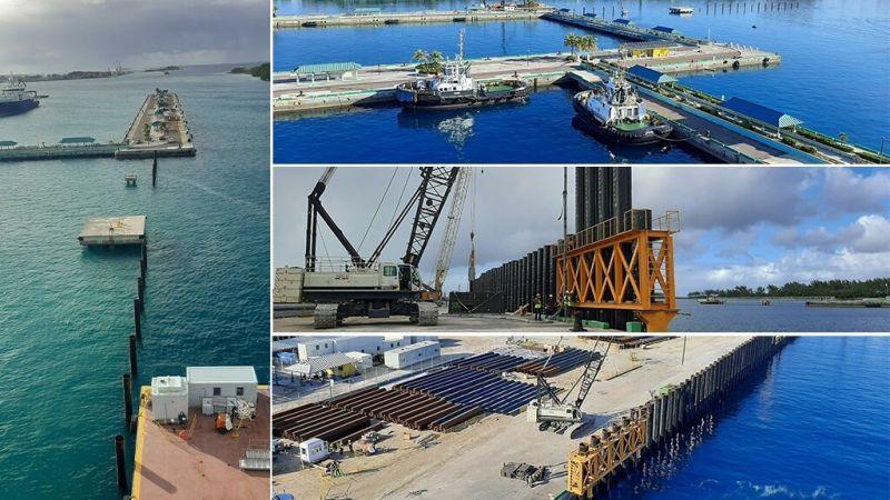 Nassau Cruise Port project – Marine Works at Prince George Wharf