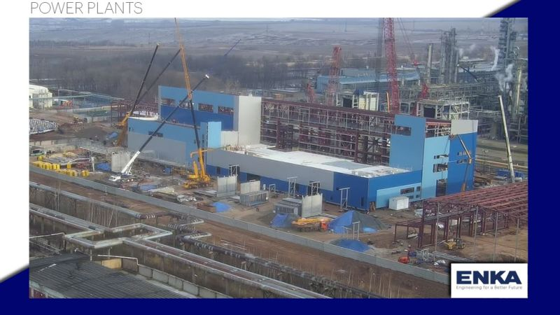 Nizhnekamsk 495 MW CCPP Progress