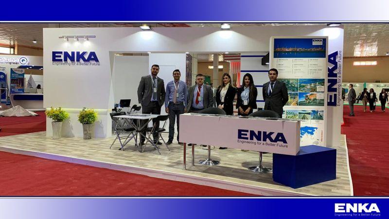 ENKA, 6. Irak Enerji Fuarı ve Konferansı'na katılıyor.