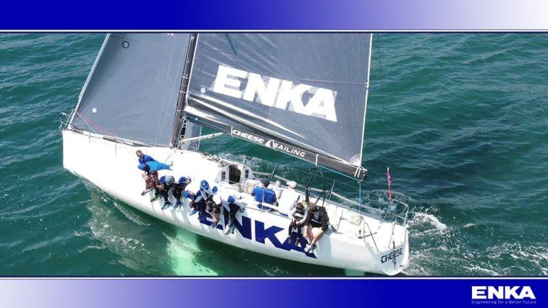 ENKA Sailing Team won the Bahçeşehir University Spring Trophy
