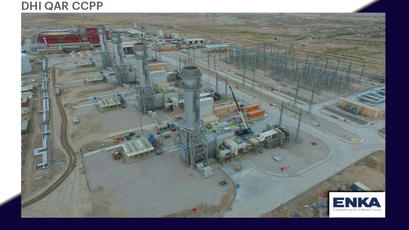 Four gas turbines were put into operation at Dhi Qar Power Plant