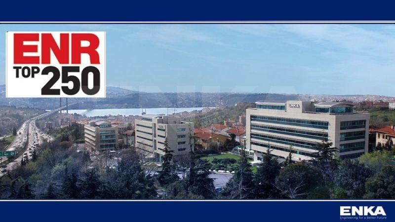 ENKA, ENR 'Dünyanın EnBüyük 250 Uluslararası Müteahhidi'Listesinde ilk 100 şirket arasındaki yerini korumuştur