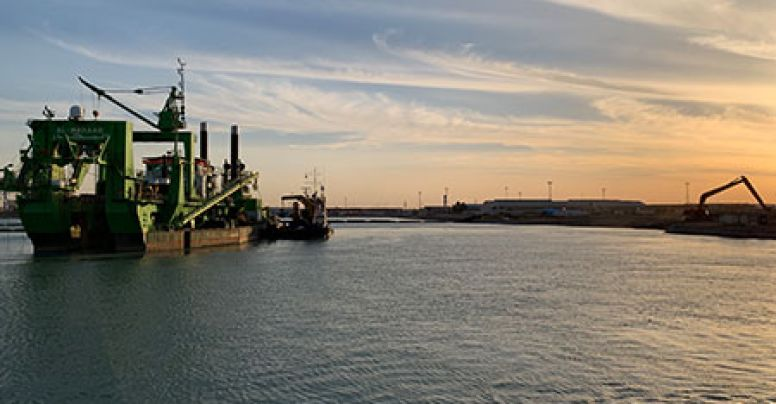 Umm Qasr BMT Container Terminal Yard 5, Quay Wall & Marine Works