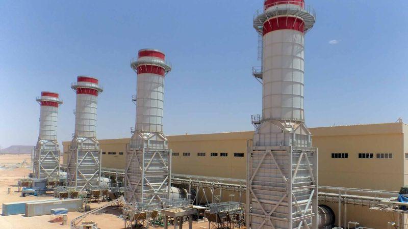 Газотурбинная Электростанция 640 МВт в Аубари