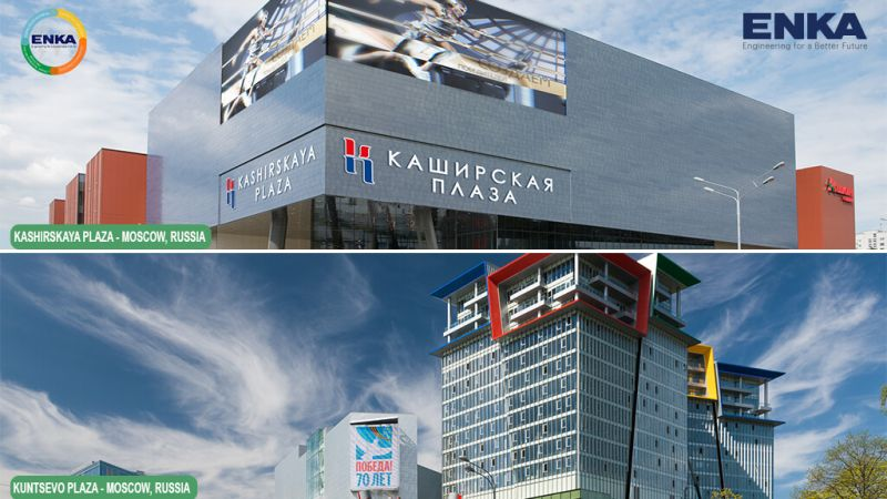 ENKA Projects with Russian Green Building Certification in Russia