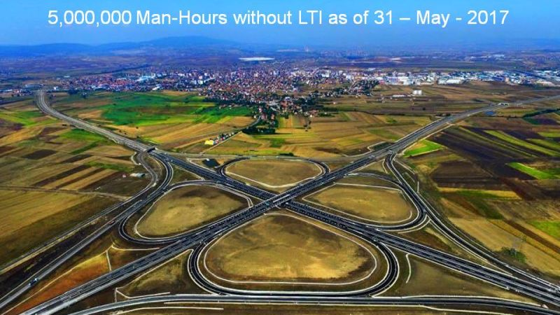Kosovo Motorway Project (Route 6) 5,000,000 Man-Hours without LTI