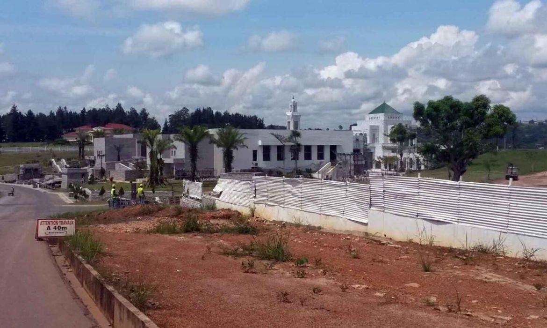 В проекте мавзолея в Габоне отработано 1 000 000 человеко-часов без ТВПТ