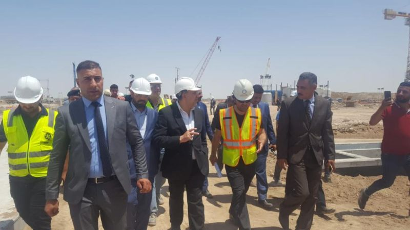 MOE Minister of Iraq Dr. Luay Al Khatteeb visited the Samawa 750 MW CCPP Project.