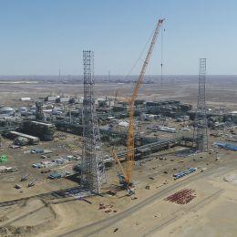 The progress of 3GP ME&I Installation works in Tengiz as of June 2021