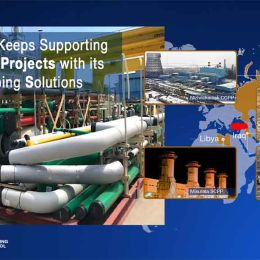 Cimtas Pipe Keeps Supporting ENKA Power Projects with its Integrated Piping Solutions