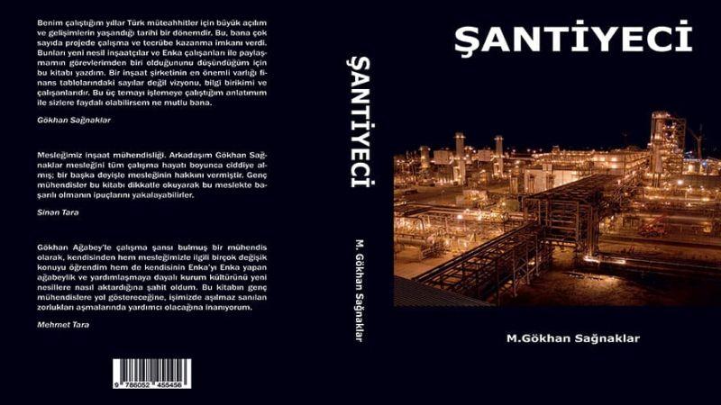 """Выпущена книга г-на Гёкхана Сагнаклара """"Şantiyeci"""""""