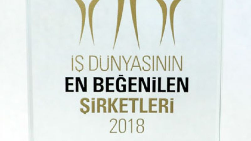 "ENKA was selected as the ""Most Admired Construction Company of Turkey"""