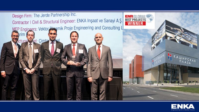 ENKA participated in the ENR Global Best Projects Awards 2019 Ceremony