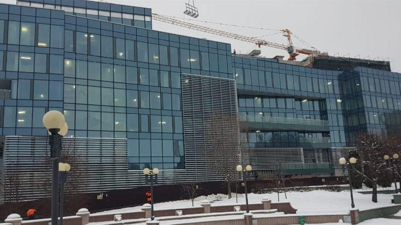 The Progress of TAIF Business Centre Project in Kazan, Tatarstan