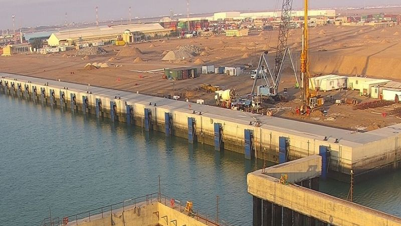 The 1st part of the Umm Qasr Multi-purpose Terminal, Container Yard 5, Quay Wall & Marine Works project was completed at a rate of 100%