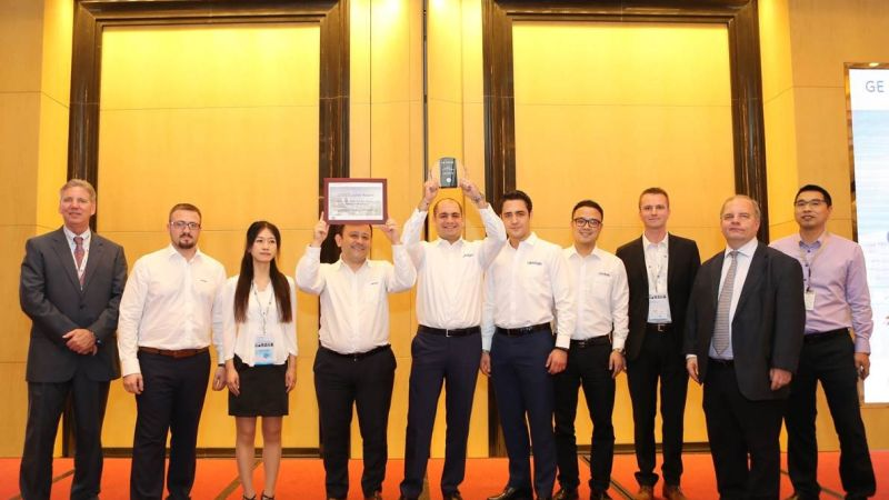 Cimtas Ningbo has been honored with the highly prestigious 'Excellence in Customer Centricity' award by GE Power