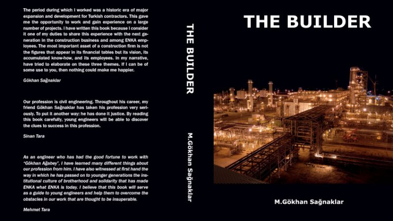 "Mr. Gökhan Sağnaklar's book ""The Builder"" has been released."