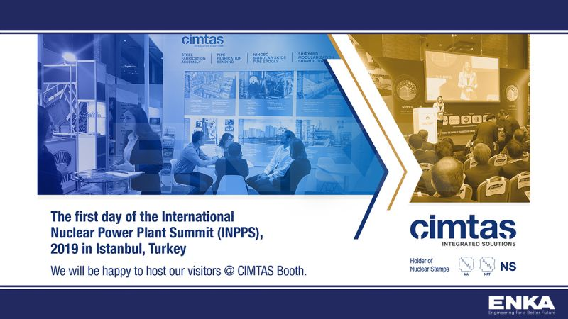 The first day of the International Nuclear Power Plant Summit (INPPS), 2019 in Istanbul, Turkey