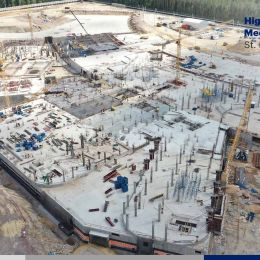 Phase 3 of the High-Technological Multifunctional Medical Complex Project