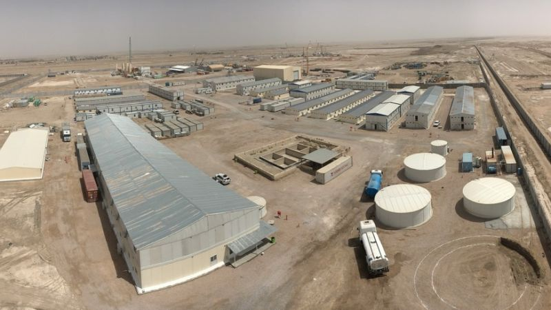 The mobilization realization rate of 85% was achieved on Samawa CCPP in Iraq