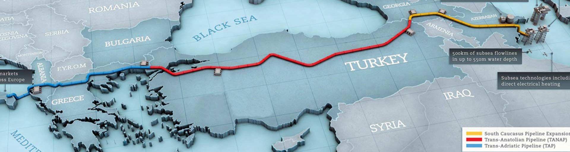 Trans Anadolu Doğal Gaz Boru Hattı (TANAP) Projesi – Ön Mühendislik Tasarımı