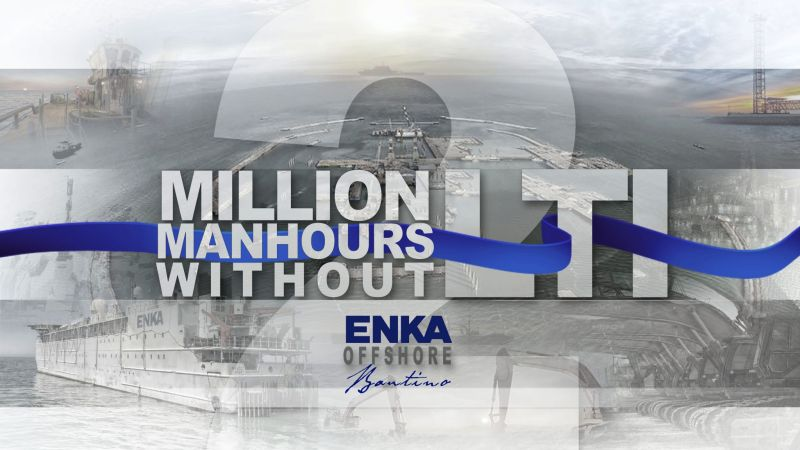 ENKA has achieved 2,000,000 man-hours w/o LTI in Caspian Sea Offshore Civil Construction Works