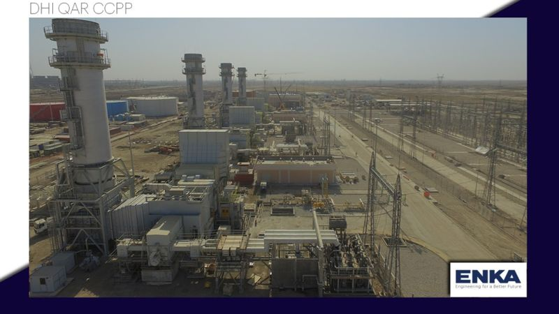 Dhi Qar 750 MW CCPP achieved a milestone — synchronization of GT1 and GT2