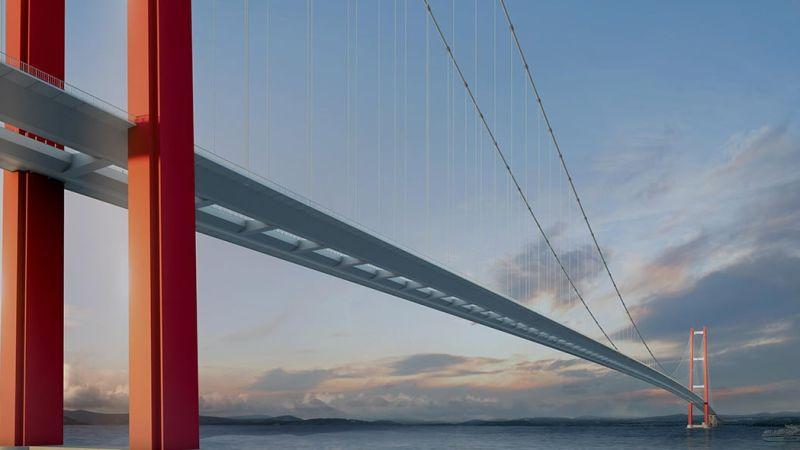 Компания «Чимташ Челик» заключила контракт на изготовление и поставку стальных балок для моста Чанаккале 1915