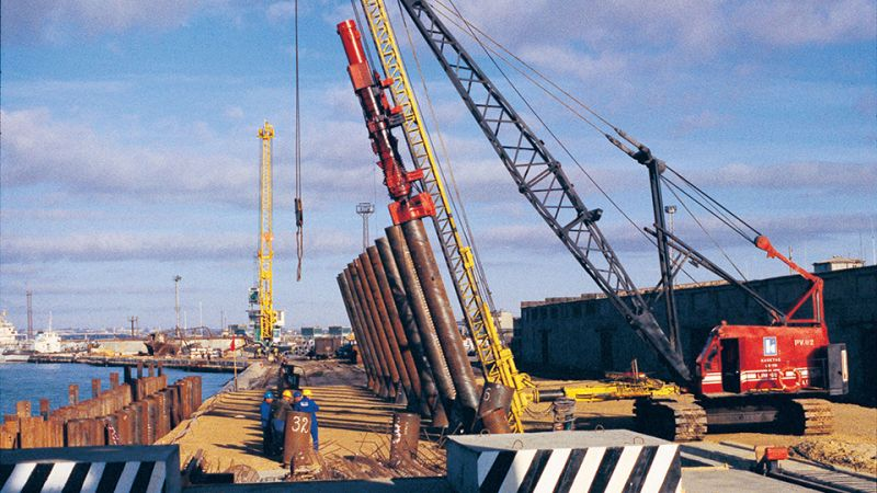 Реконструкция морского порта Актау