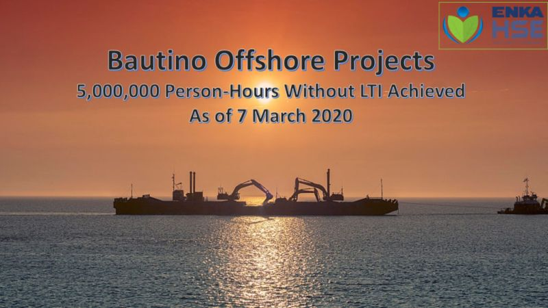 Bautino Projects 5,000,000 Person-Hours without LTI