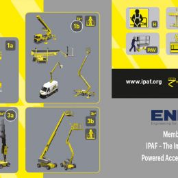 ENKA became a member of the International Powered Access Federation (IPAF)