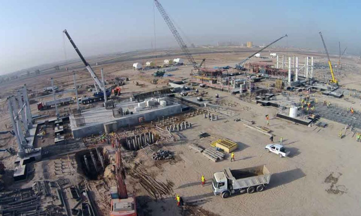 2.001.026 man-hours w/o LTI were spent in Baghdad Electrical Power Station