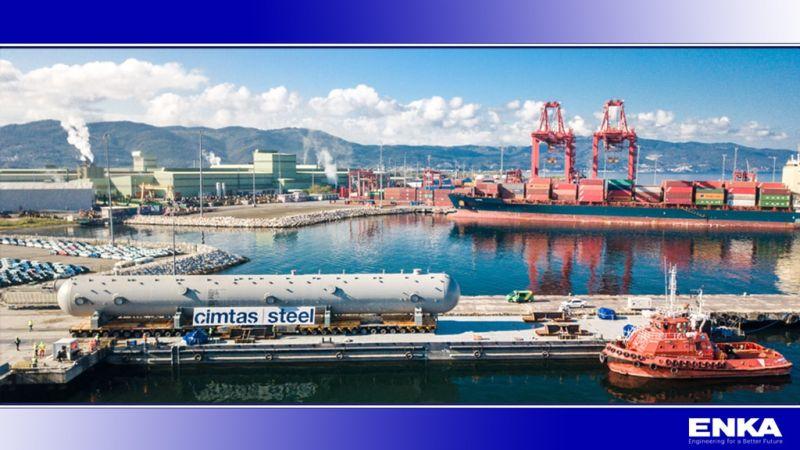 ÇİMTAŞ Çelik, TCO'nun Kazakistan'da Bulunan Future Growth Projesine Katkılarını Sürdürüyor