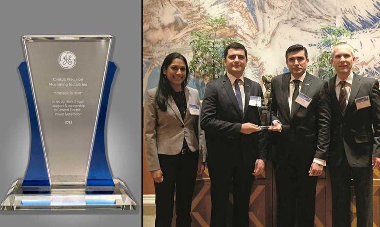 Компания «Чимташ Пресижн Мэшинин Индастриз» получила престижную награду «Стратегический партнер»